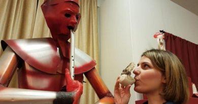 Quel museo dei fischietti regno di sculture sonore